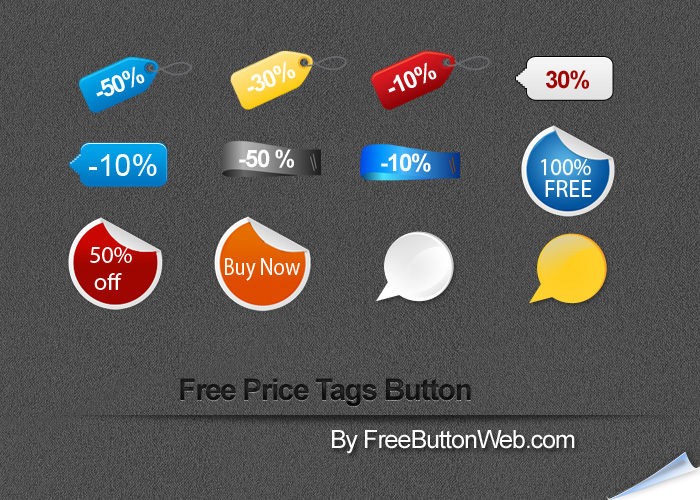 Free Price Tags Buttons