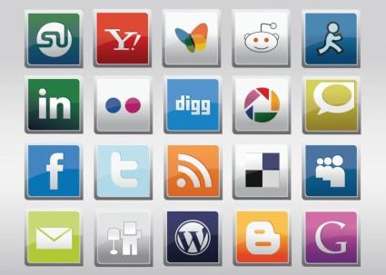 Free Social Media Vector Icons