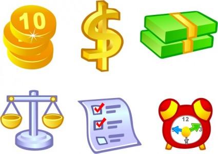 Free Vector Money Icons