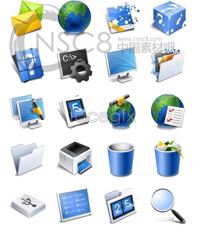 Fresh desktop icons