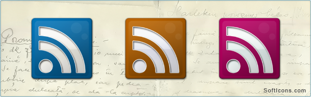 Fresh Slick RSS Icons
