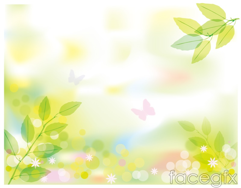 Fresh Spring Scenery Vector  Over Millions Vectors Stock Photos