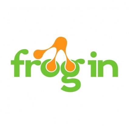 frogin logo