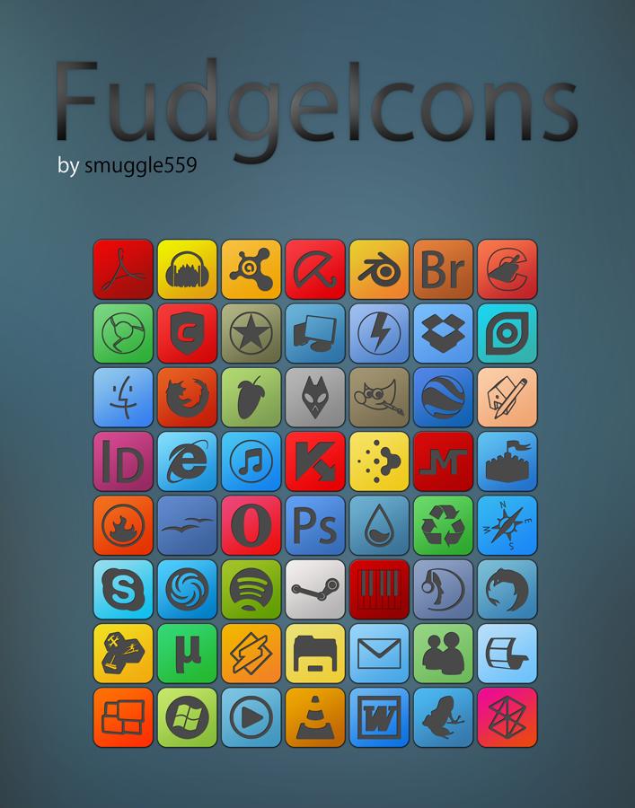 FudgeIcons
