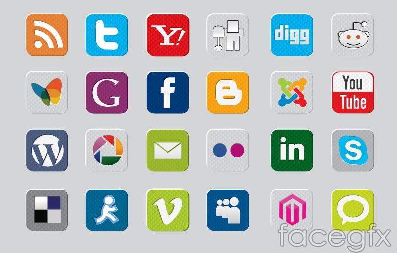 Social media powerpoint template free download autodiet fun social media icon vector over millions vectors stock photos template designer toneelgroepblik Images