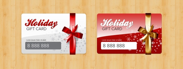 gift card design template  Gift card design templates – Over millions vectors, stock photos ...