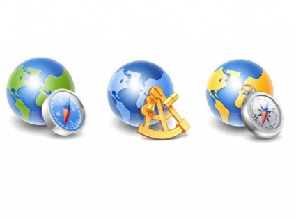 Globe Icons icons pack