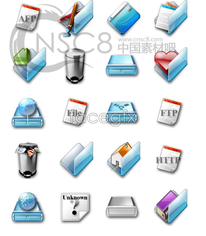 Gloss unlimited system replacement icons