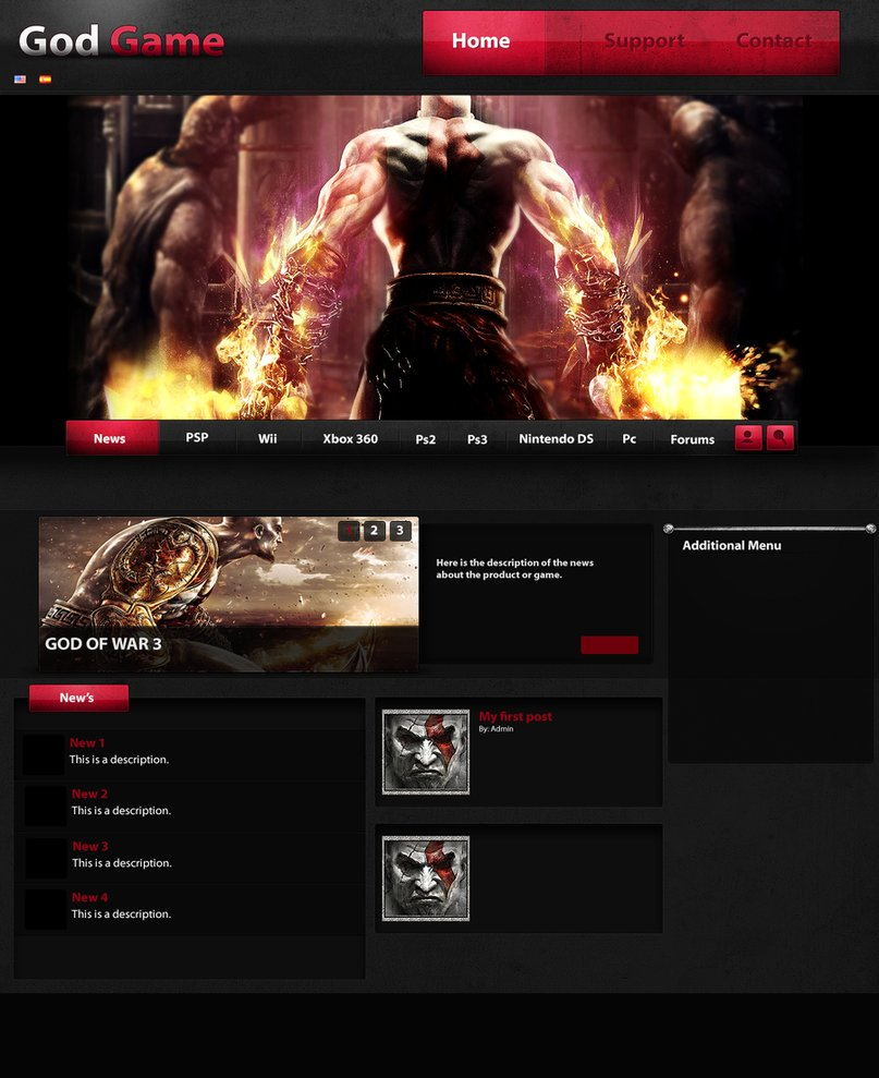 God game – web skin – Over millions vectors, stock photos, hd ...