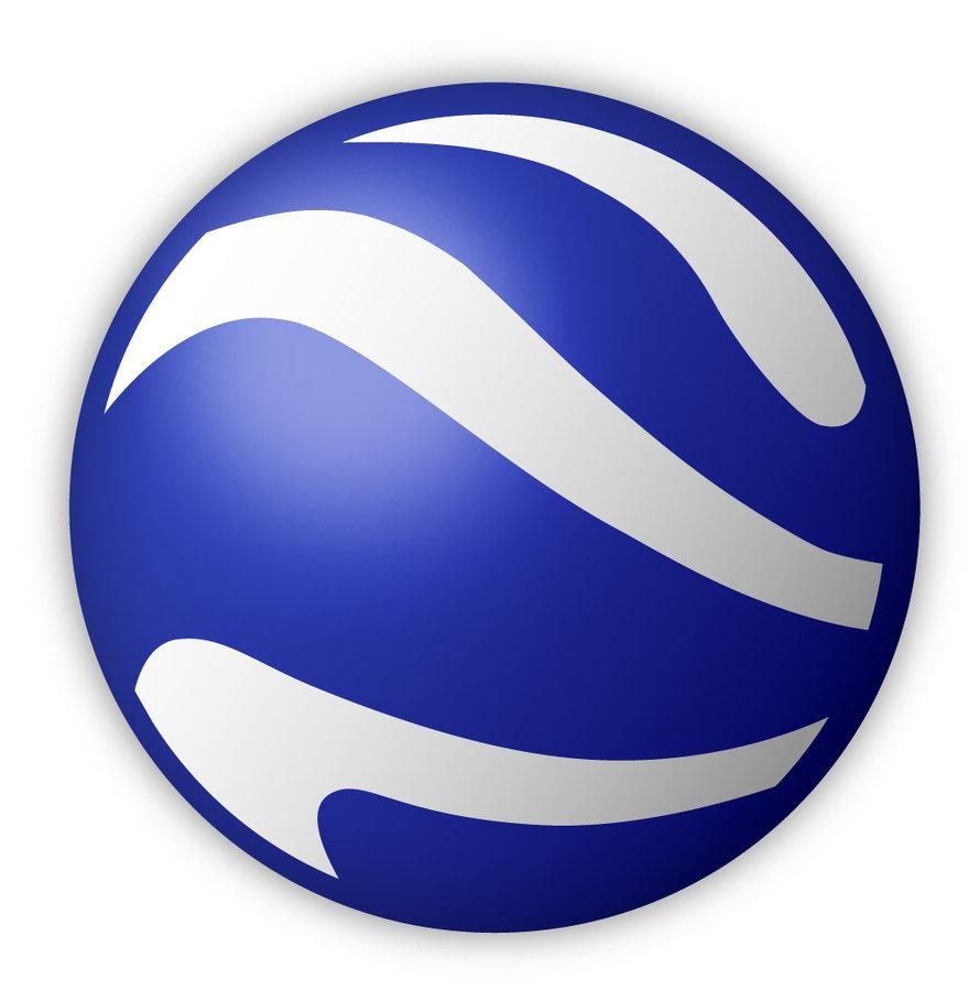 Google Earth Logo PNG AI