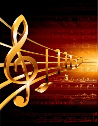 Gorgeous classical music background 05 vector – Over