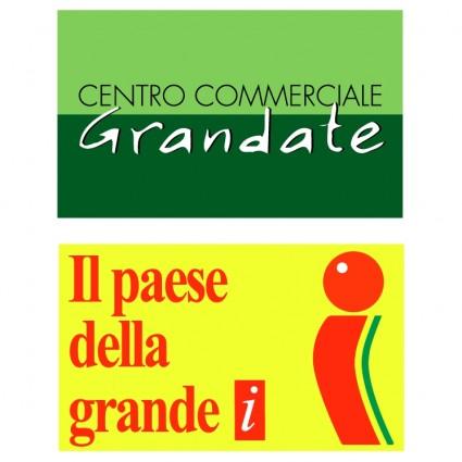 grandate centro commerciale logo