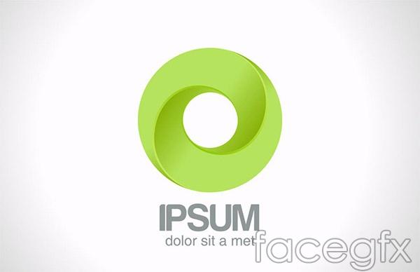green circle logo vector � over millions vectors stock
