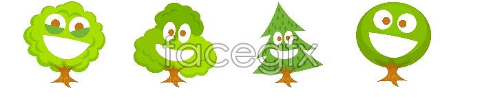 Green emoticons