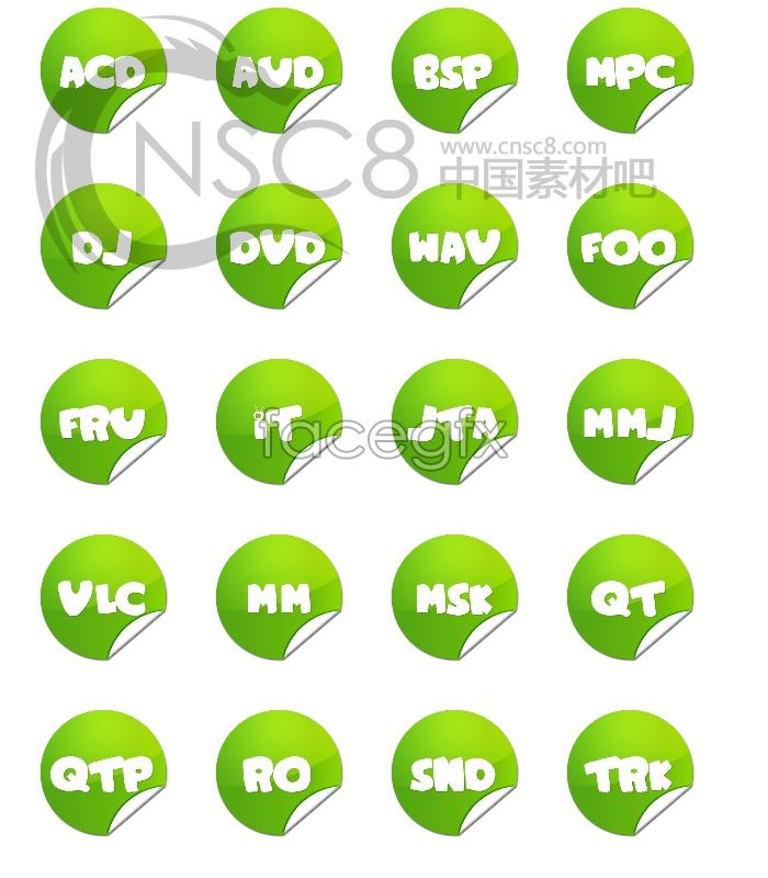 Green Label desktop icons