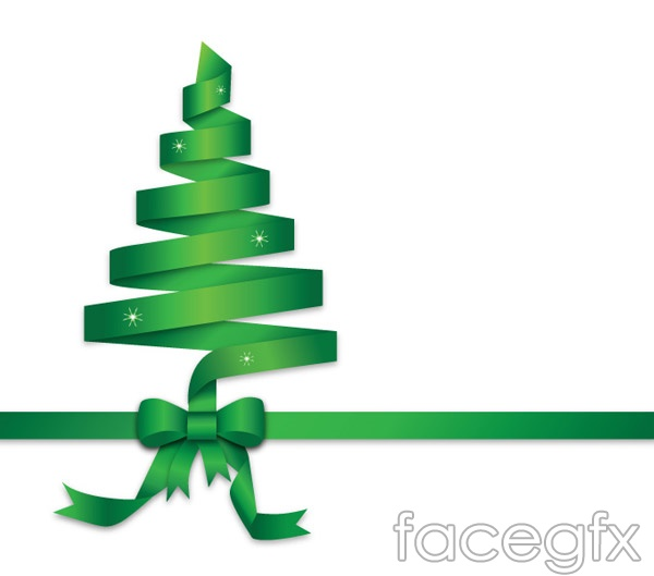 christmas ribbon tree hd - photo #11