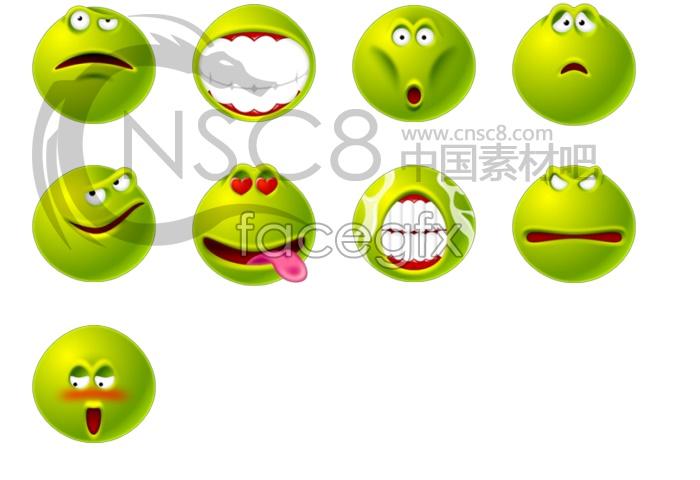 Green spoof look
