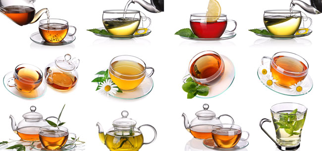 Green tea HD pictures PSD
