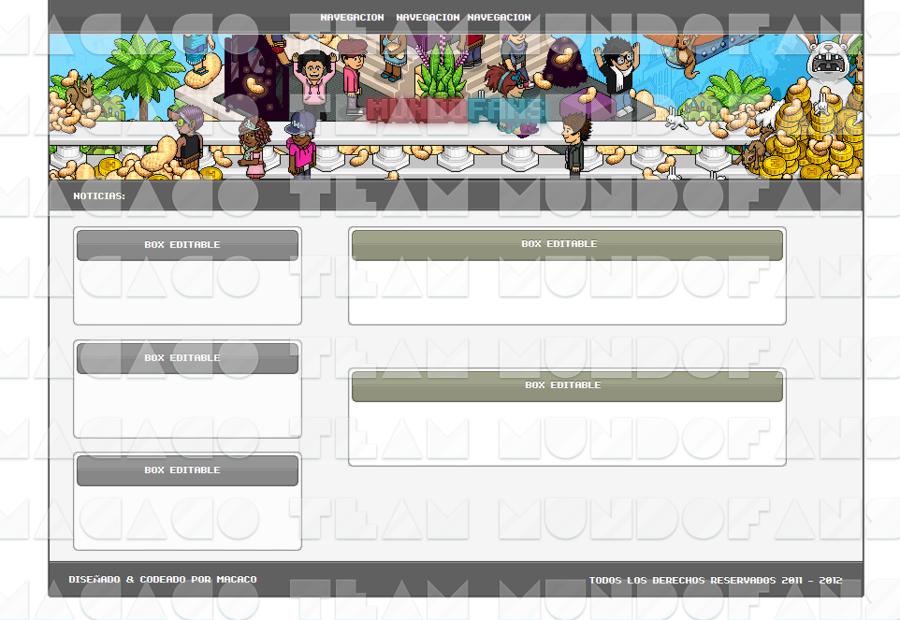 Habbo Fansite 3 ~ Team MundoFans