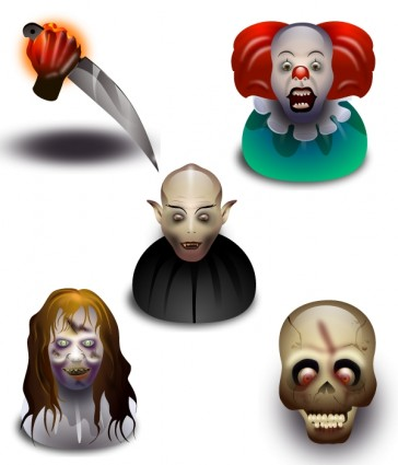Halloween Icons Set icons pack