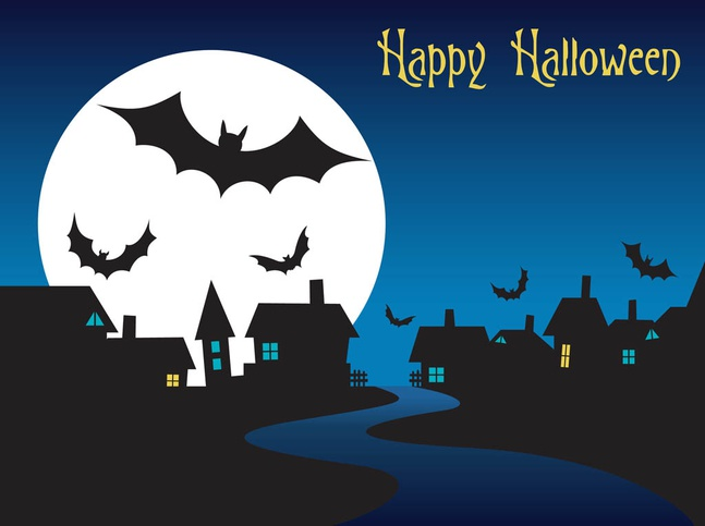 halloween night graphics vector free – over millions vectors, Modern powerpoint