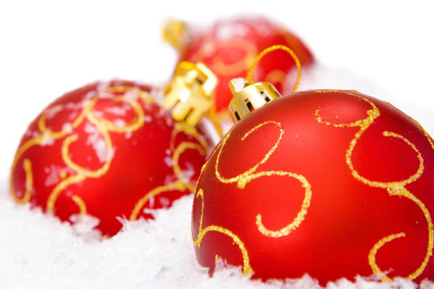 Hanging Christmas balls pictures download