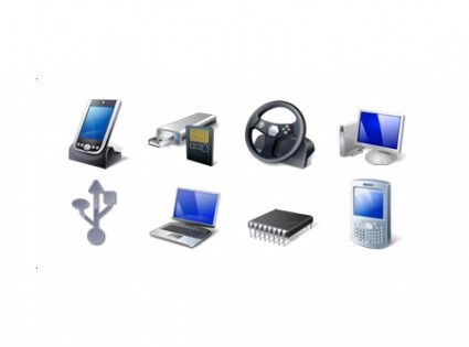 Hardware & Devices Icon Set icons pack