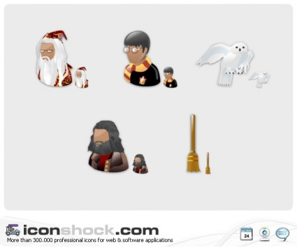 Harry Potter Icons icons pack