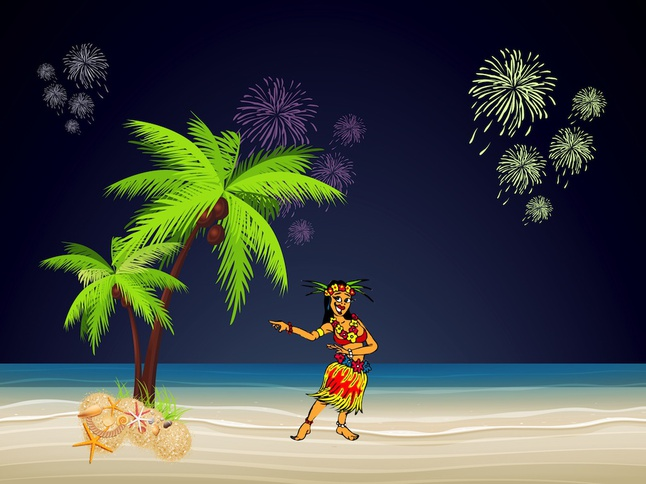 hawaii party vector free – over millions vectors, stock photos, hd, Modern powerpoint