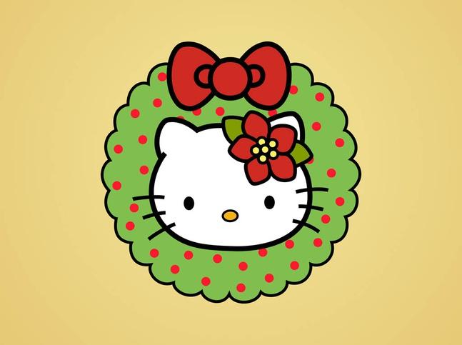 Hello kitty christmas vector free over millions vectors stock hello kitty christmas vector free toneelgroepblik Choice Image
