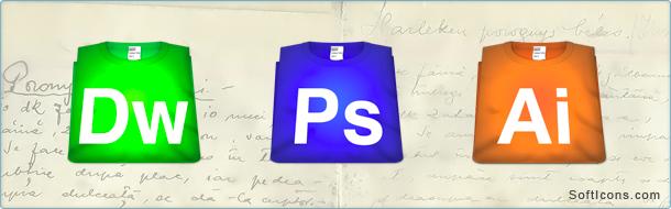 Helvetica T-Shirts CS5 Icons