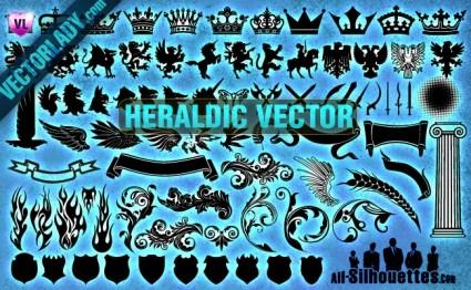 Heraldic Vector Clipart