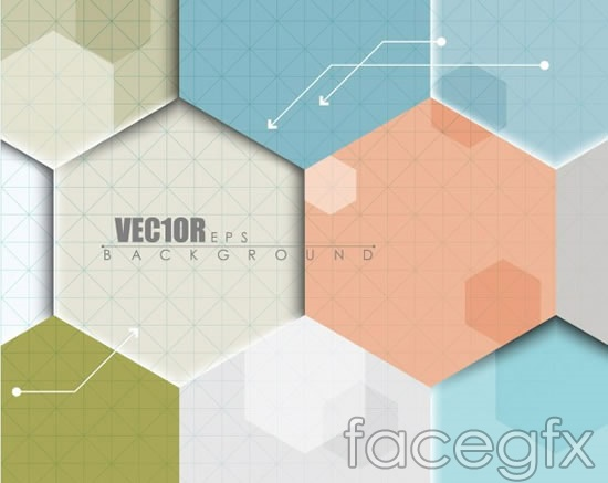 Hexagons and colorful background vector over millions vectors hexagons and colorful background vector toneelgroepblik Image collections