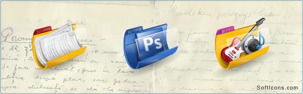 Holy Folders Icons