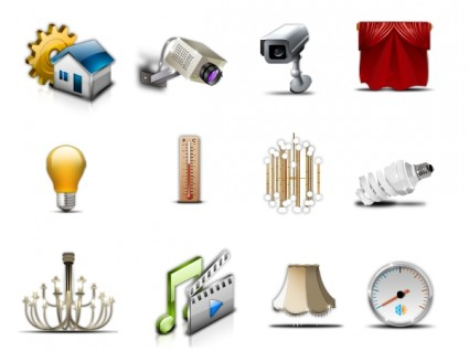 House Management  Icons icons pack