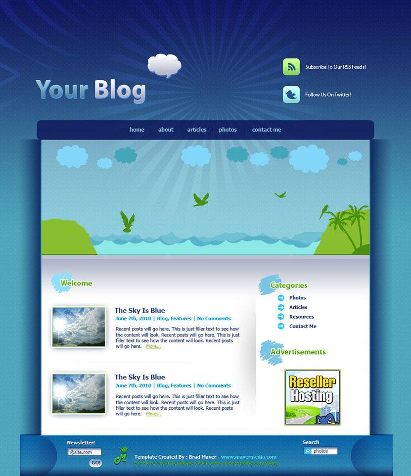 HQ WordPress Template