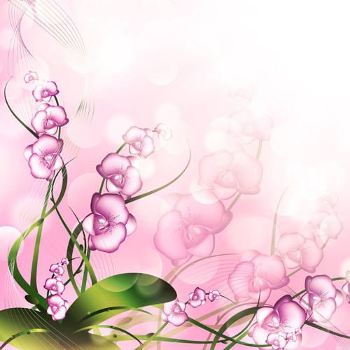 Huge collection of beautiful flower vector graphics 10 free