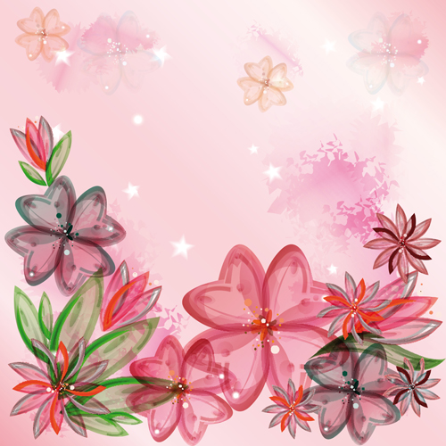 huge collection of beautiful flower vector graphics  free  over, Beautiful flower