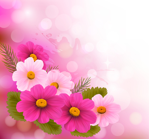 Huge collection of beautiful flower vector graphics 15 free