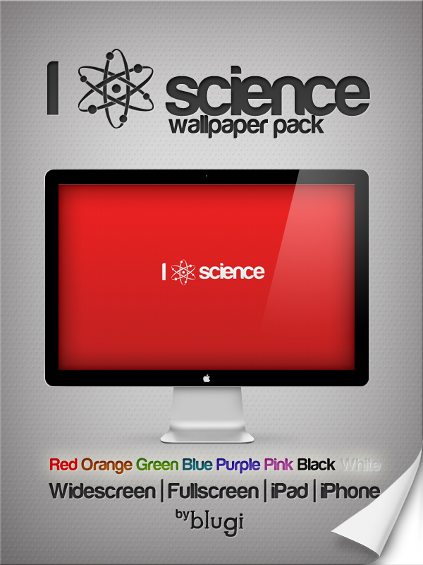 I Atom Science Wallpaper Pack