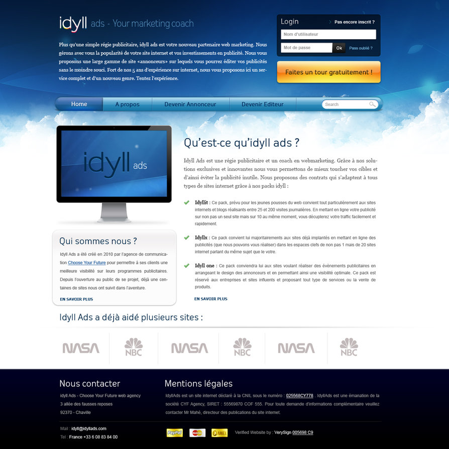 iDyll – PSD Available
