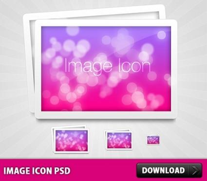 Image Icon Free PSD