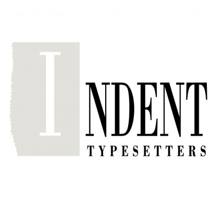 indent typesetters logo