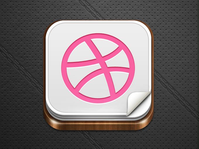 iOS Icon Template PSD