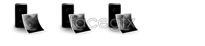 Iphone 3G phone icons