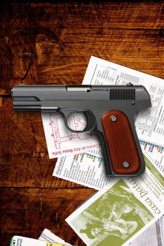 iPhone Gun Wallpaper