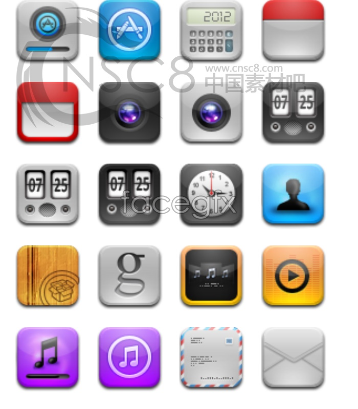 IPhone mobile app icon
