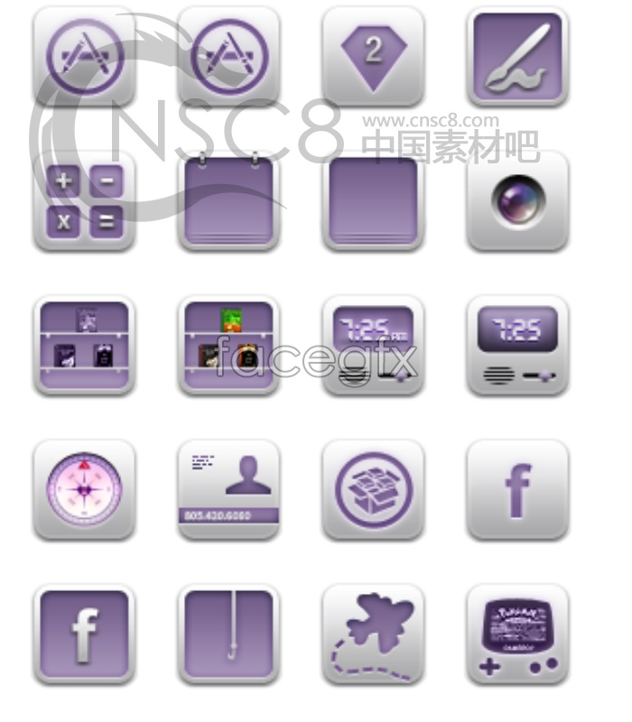 IPhone software icons