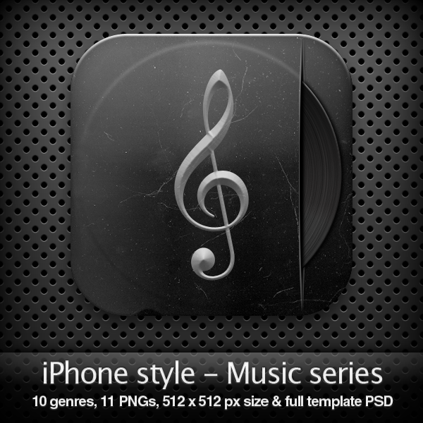 iPhone style – MUSIC SERIES