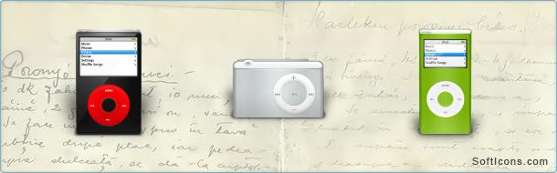 iPod 06 Icon Set
